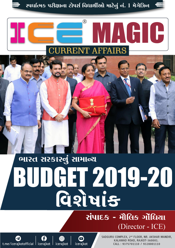 SPECIAL ISSUE - BUDGET 2019