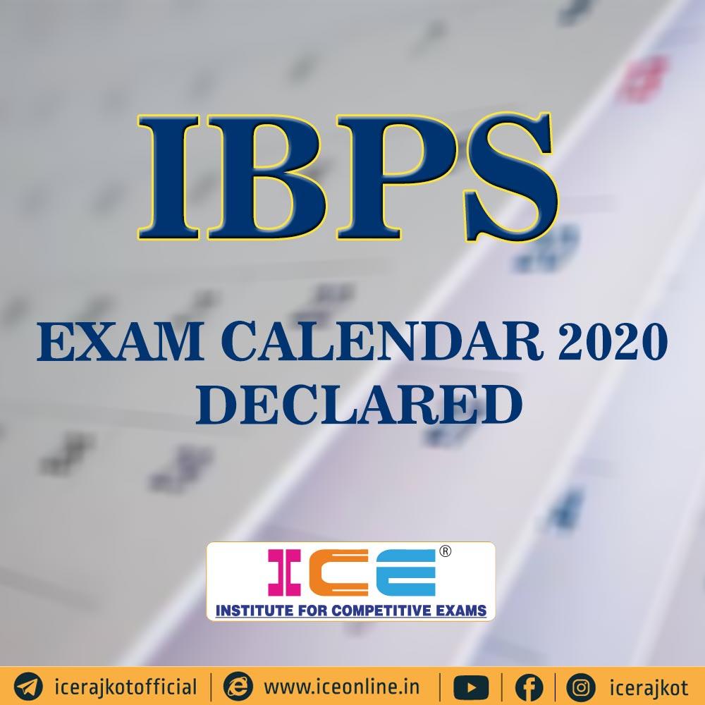 IBPS Exam Calendar 2020 Declared